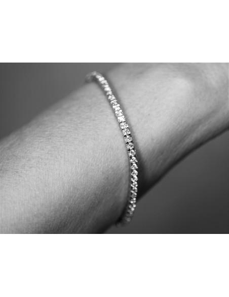 bracciale tennis diamanti kt. 0,70 Opera Italiana Jewellery