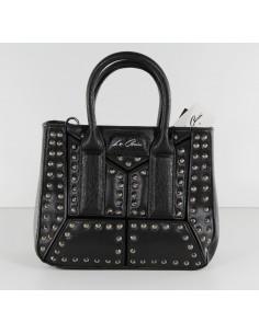 borsa LA CARRIE BAG colore nero e borchie