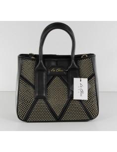 borsa shopper LA CARRIE BAG nero multiborchie