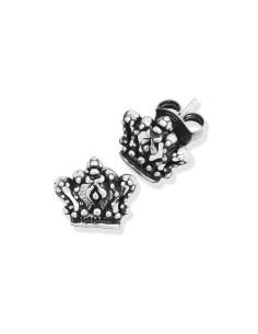 Orecchini argento mini Corona Giovanni RASPINI