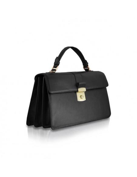 borsa POMIKAKI modello MELANIA colore black