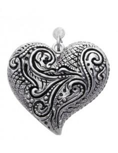 Ciondolo argento Cuore motivi Giovanni RASPINI