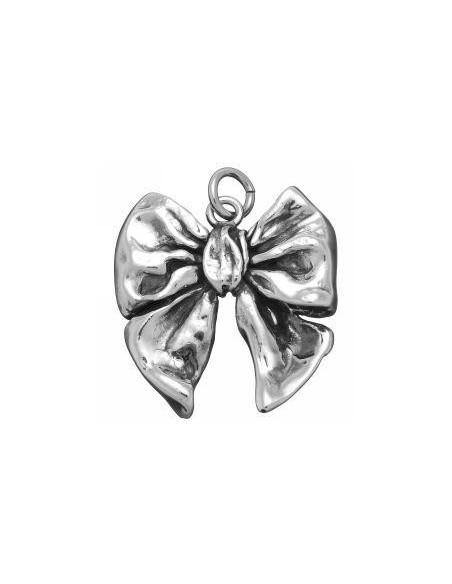 Ciondolo argento Fiocco grande Giovanni RASPINI