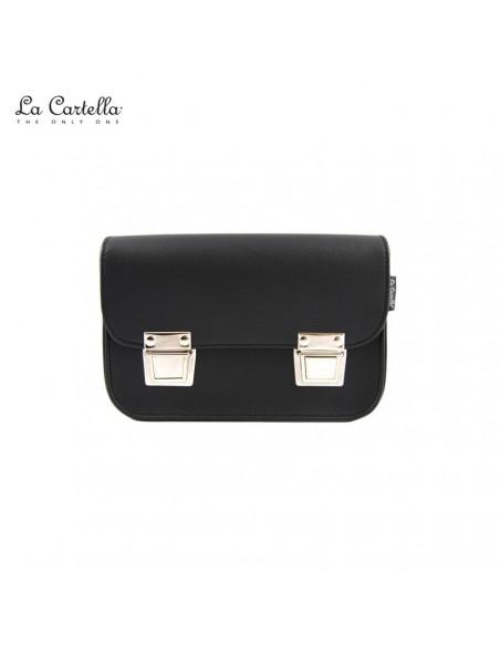 LA CARTELLA borsa mini pop black