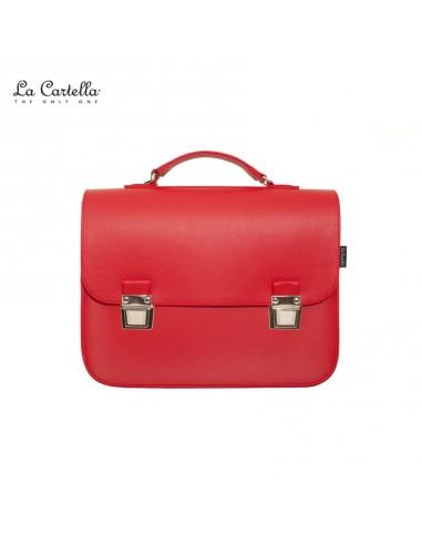 LA CARTELLA borsa pop deluxe red