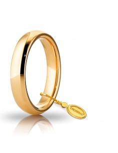 fede matrimoniale Comoda UNOAERRE oro giallo gr.6 mm.4,0
