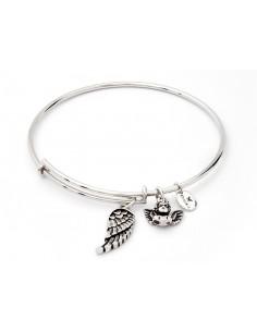 bracciale CHRYSALIS collezione INCANTATA angelo custode - silver