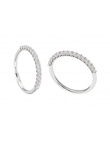 anello fascia anniversary recarlo kt. 0.36