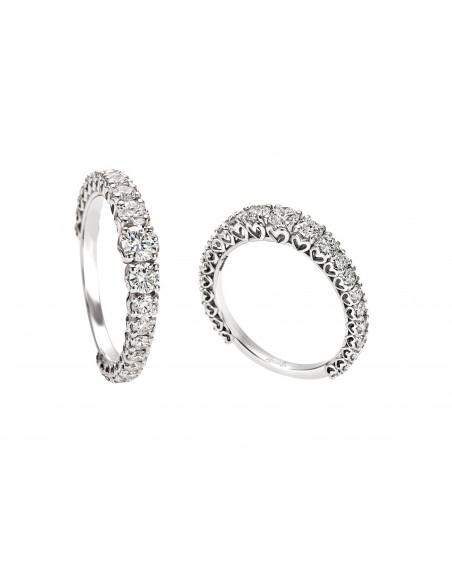 anello fascia girodito scalare anniversary recarlo kt. 0.62
