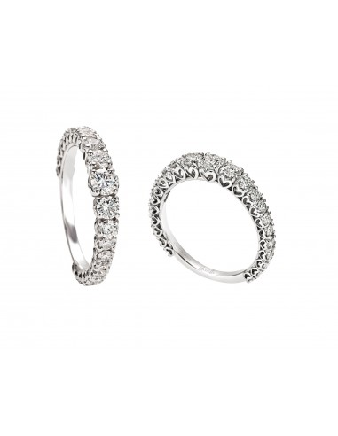 anello fascia girodito scalare anniversary recarlo kt. 0.97