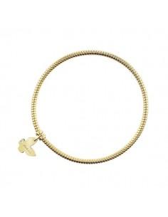 SALVINI Minimal Pop Bracciale Farfalla oro giallo 9kt più diamante da kt.0.01