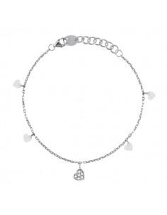 SALVINI Be Happy collier Cuore diamanti kt.0.07 oro bianco 9kt
