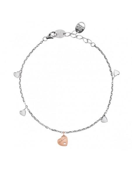 SALVINI Be Happy CHIC bracciale Farfalla diamanti kt.0.07 oro rosa 9kt