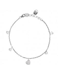 SALVINI Be Happy CHIC bracciale Farfalla diamanti kt.0.07 oro bianco 9kt