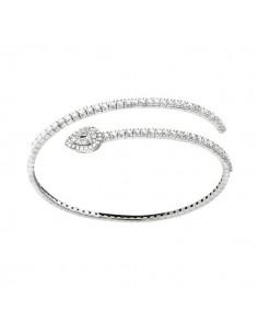 bracciale diamanti SALVINI Precious Loop kt.1.31 oro bianco