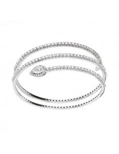 bracciale diamanti SALVINI Precious Loop kt.2.08 oro bianco