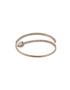 bracciale diamanti SALVINI Precious Loop diamanti brown kt.1.35 oro rosa