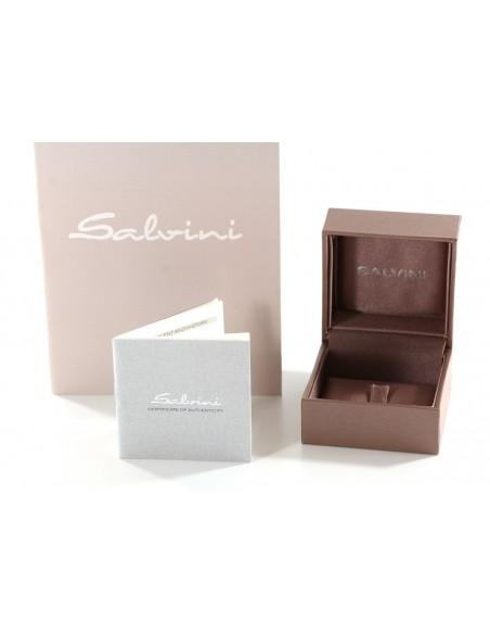 SALVINI collezione I SEGNI Cuore pavè diamanti kt.0.07 oro bianco
