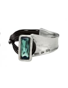 bracciale UNO DE 50 Aurora boreal verde