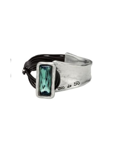 bracciale UNO DE 50 aurora boreale verde