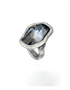 anello UNO DE 50 flash azur