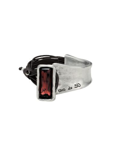 bracciale UNO DE 50 aurora boreale RED