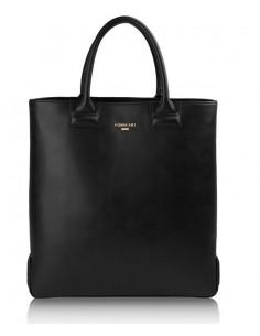 borsa shopper POMIKAKI Susy colore nero