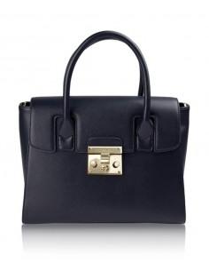 borsa POMIKAKI modello BARBARA colore navy blue