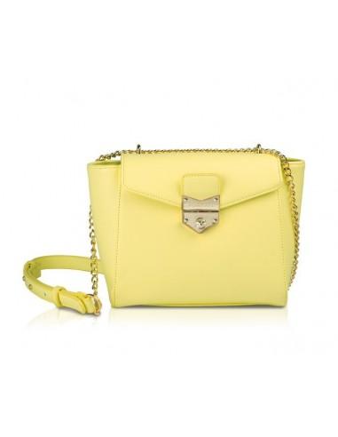 molto carino e7089 7a4d4 borsa tracolla POMIKAKI modello AGATA colore lime - Opera Italiana Jewellery