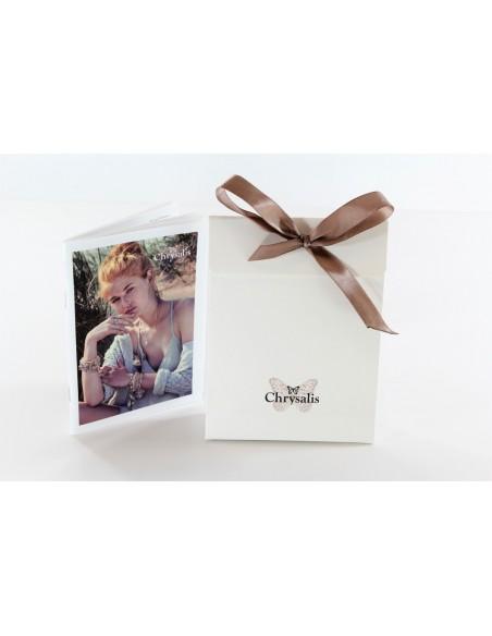 collana CHRYSALIS BUONA FORTUNA gennaio - silver