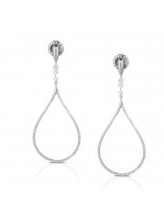 orecchini argento cuore