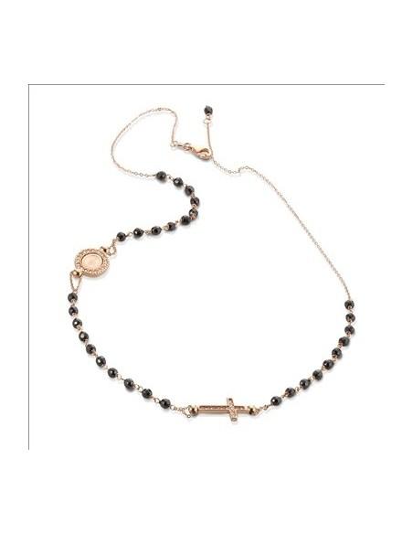 collana argento rosè sacro icone