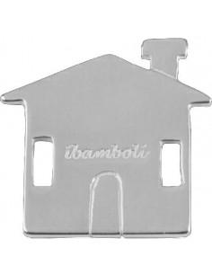 iBamboli, Sagomina CASETTA mod F, Argento lucido 925