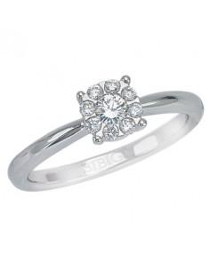 anello diamanti MARLENE di BIBIGI' kt.0.12