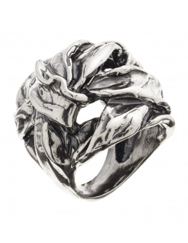 anello argento NASTRO Raspini gioielli