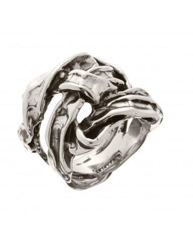 anello argento NASTRO PICCOLO Raspini gioielli