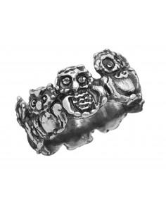anello argento GUFI Raspini gioielli