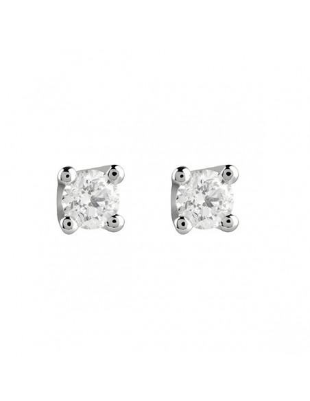 orecchini solitario diamanti SALVINI Virginia kt.