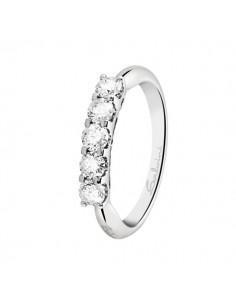 anello veretta diamante SALVINI Desideria kt. 0.40