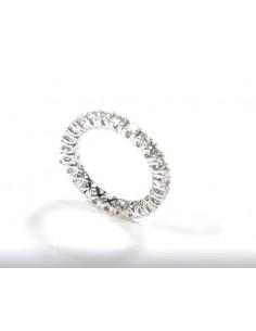 fedina a giro diamanti kt.1.70 opera italiana jewellery
