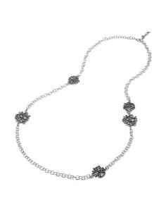Collana argento Longuette Perlage Giovanni RASPINI