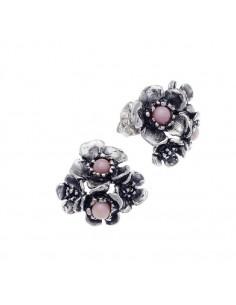 orecchini in argento Wild Rose di Giovanni Raspini