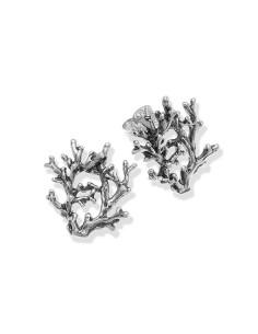Orecchini in argento Coral medi di Giovanni Raspini