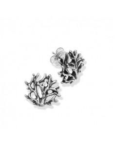 Orecchini in argento Coral piccoli di Giovanni Raspini